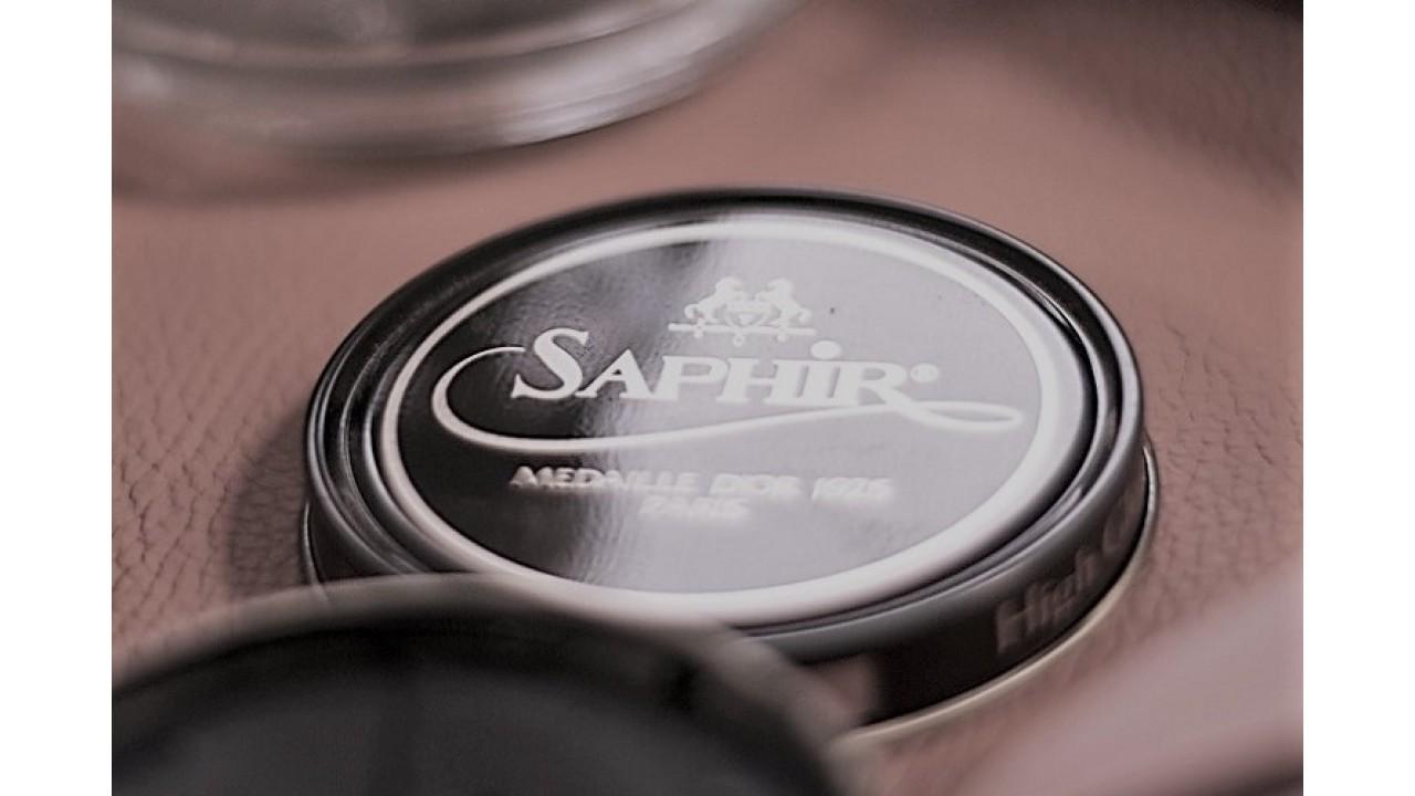 Крем для обуви Saphir MEDAILLE D'OR 1925 Paris Pate de luxe. Технологии яркого блеска