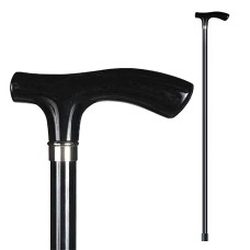 Трость Пластиковая ручка, цвет: черный, 94см. Saphir (Франция) арт.16382