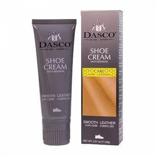 Крем-краска для обуви, DASCO SHOE CREAM, тюбик с губкой, 75мл. - арт.А2020