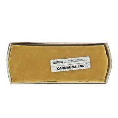 Воск натуральный для полировки, GIRBA - CARNAUBA, 250гр. (бесцветный) - арт.4017