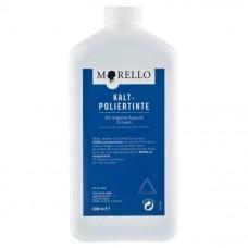 Краска для холодного полирования обуви профессиональные чернила 1000 мл. Morello KALT-POLIERTINTE арт.900836