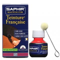Краска для обуви из всех типов кожи Saphir (Сапфир) Teinture francaice арт 0812