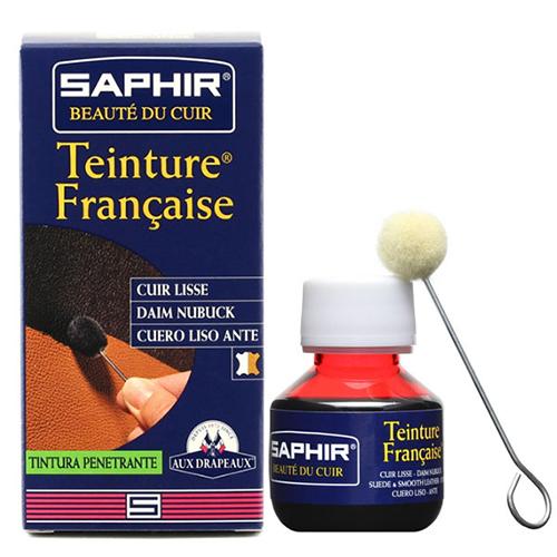 Краска для замши Saphir Teinture francaice арт 0812