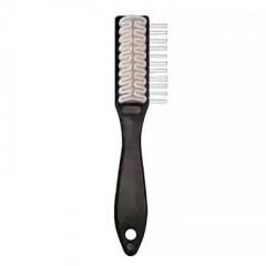Щетка для обуви из замши, с ручкой с натуральным каучуком для замши, нубука Solitaire (Солитер) арт.660