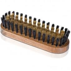 Щетка для обуви из замши, для энергичной чистки выворотной кожи с медной щетиной Solitaire (Солитер) арт.8130