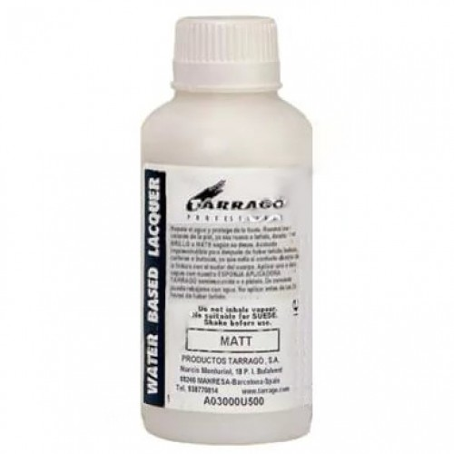 Матовое защитное покрытие для профессиональной реставрации - FINISHING MATE (WATER BASED LACQUER) Tarrago фляжка 1л. арт.TPP03