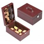 Ящики, ларцы, футляры для обувной косметики