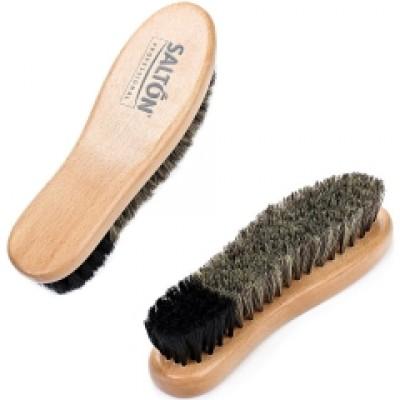 Salton Professional - Щетка для обуви Complex Care дерево с густым мягким конским ворсом для обуви из гладкой кожи - арт.1015